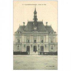 carte postale ancienne 92 LEVALLOIS PERRET. Hôtel de Ville