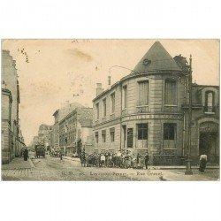 carte postale ancienne 92 LEVALLOIS PERRET. A l'Etoile Bleue rue Gravel 1908