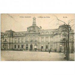 carte postale ancienne 92 CLICHY. Hôtel de Ville