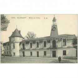 carte postale ancienne 92 CLAMART. Hôtel de Ville 1922