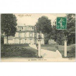 carte postale ancienne 92 CHAVILLE. Hôtel de Ville 1911