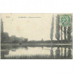 carte postale ancienne 92 CHAVILLE. Etang des Ecrevisses 1907