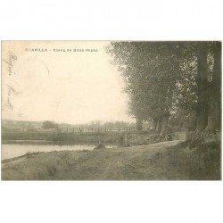 carte postale ancienne 92 CHAVILLE. Etang de Brise Miche 1903