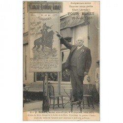 carte postale ancienne 92 CHATILLON. Tour Biret 1913 ancien sous officier du 8° Cuirassiers
