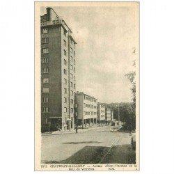 carte postale ancienne 92 CHATENAY MALABRY. Avenue Albert Thomas et Bois de Verrières