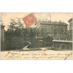 carte postale ancienne 92 BILLANCOURT. Le Sanatorium 1904