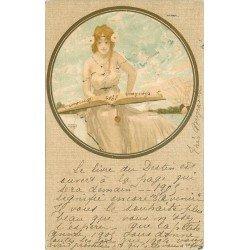 ILLUSTRATEUR Raphaël Kirchner. Le Livre du Destin 1905