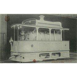 TRANSPORTS. La Locomotive Francq pour Tramway sur Route