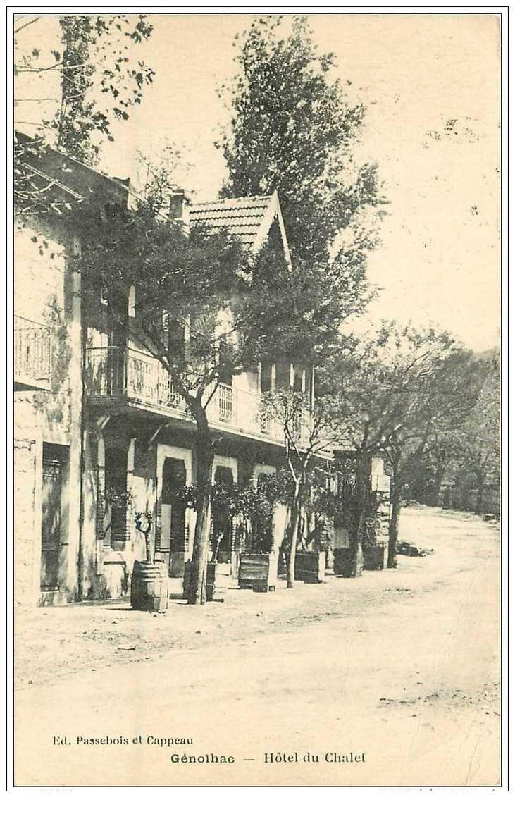 30 genolhac h 244 tel du chalet 1923