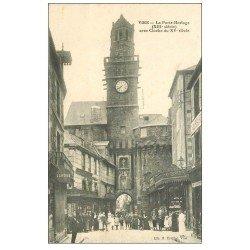 carte postale ancienne 14 VIRE. Esplanade du Château 1911