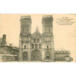 carte postale ancienne 14 CAEN. Top Promotion Abbaye aux Dames Eglise de la Trinité 1914