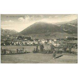 carte postale ancienne 01 Chatillon-de-Michaille. Vue panoramique. Ed Michaux