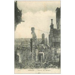 carte postale ancienne 02 SOISSONS. 1914-18 Rue Matigny 1917