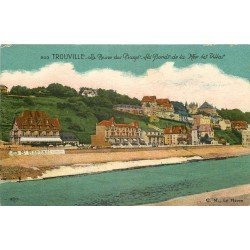 carte postale ancienne 14 TROUVILLE. Bords de la Mer les Villas