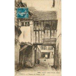 carte postale ancienne 14 LISIEUX. Impasse de l'Image 1921