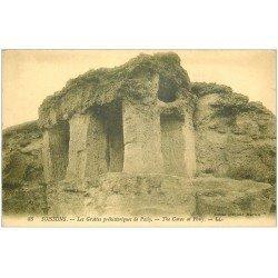 carte postale ancienne 02 SOISSONS. Grottes préhistoriques de Pasly. Edition Martin