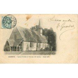 carte postale ancienne 14 LISIEUX. Eglise d'Ouilly-le-Vicomte 1904
