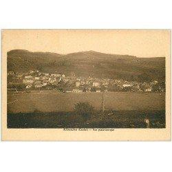 carte postale ancienne 15 ALLANCHE. Vue de la Ville 1938