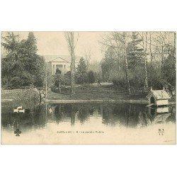carte postale ancienne 15 AURILLAC. Le Jardin Public