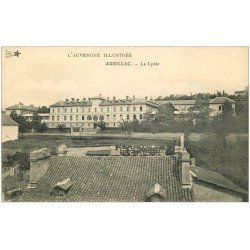 carte postale ancienne 15 AURILLAC. Le Lycée 1911