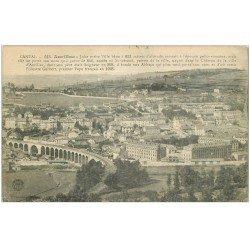carte postale ancienne 15 AURILLAC. Ville et Viaduc