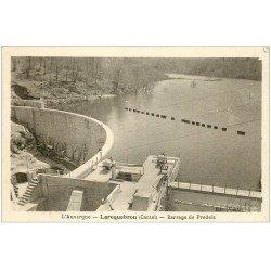 carte postale ancienne 15 LAROQUEBROU. Barrage de Pradels