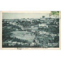 carte postale ancienne 15 SAINT-FLOUR. La Ville Haute 1947