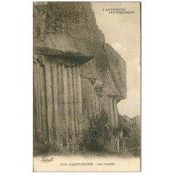 carte postale ancienne 15 SAINT-FLOUR. Les Orgues 1932