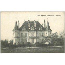 carte postale ancienne 16 AIGRE. Château de Crève Coeur