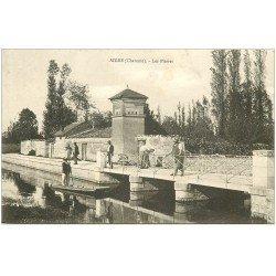 carte postale ancienne 16 AIGRE. Les Pierres. Carte pionnière vers 1900 vierge