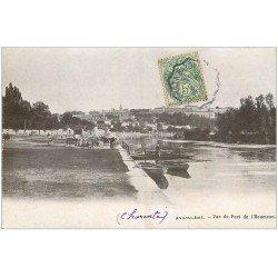 carte postale ancienne 16 ANGOULEME. Port de l'Houmeau 1907