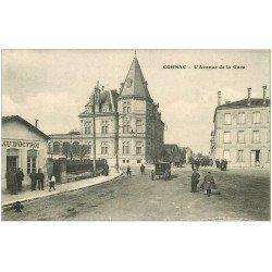 carte postale ancienne 16 COGNAC. Bureau d'Octroi Avenue de la Gare