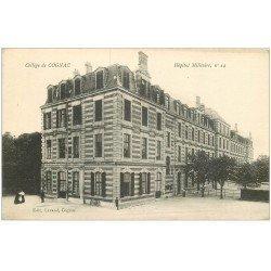 carte postale ancienne 16 COGNAC. Hôpital Militaire