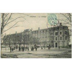 carte postale ancienne 16 COGNAC. Le Collège 1906