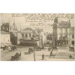 carte postale ancienne 16 COGNAC. Rue d'Alger 1914