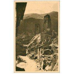 carte postale ancienne 66 CERDAGNE. Tours de Carol