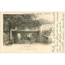 carte postale ancienne 66 LE BOULOU. Sources Clémentine et Saint-martin 1903 Eau bicarbonatée