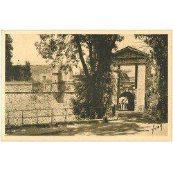 carte postale ancienne 66 MONT-LOUIS. La Porte de France