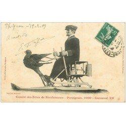 carte postale ancienne 66 PERPIGNAN. Carnaval XV. Comité des Fêtes de Bienfaisance 1909