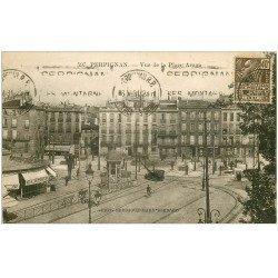 carte postale ancienne 66 PERPIGNAN. Place Arago 1931