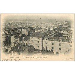 carte postale ancienne 66 PERPIGNAN. Vue de l'Eglise Saint-Jacques 1903