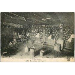 carte postale ancienne 63 AUVERGNE. Intérieur Auvergnat