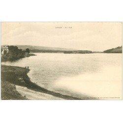 carte postale ancienne 63 AYDAT. Le Lac vers 1900