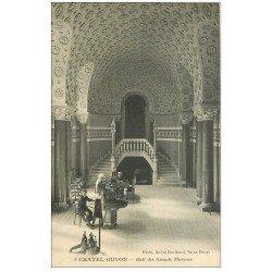 carte postale ancienne 63 CHATEL-GUYON. Hall des Grands Thermes