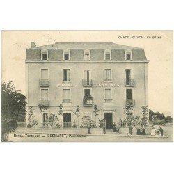 carte postale ancienne 63 CHATEL-GUYON. Hôtel Terminus 1905