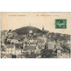 carte postale ancienne 63 CHATELGUYON. Lot de 8 Cpa Panorama, Chaluset, Saint-Hippolyte, Calvaire...