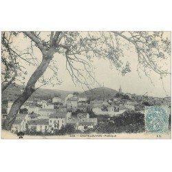 carte postale ancienne 63 CHATELGUYON. Lot de 8 Cpa. La Concentration, Monts Dômes, Calvaire, Sans-Souci, Chalusset, Poétique...