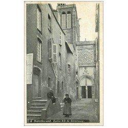 carte postale ancienne 63 CLERMONT-FERRAND. Eglise Notre-Dame de Délivrance