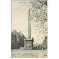carte postale ancienne 63 CLERMONT-FERRAND. La Pyramide