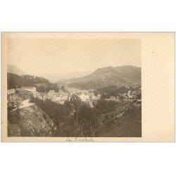 carte postale ancienne 63 LA BOURBOULE. Le Pont. Prototype pour Cartes Postales. Papier épais de qualité
